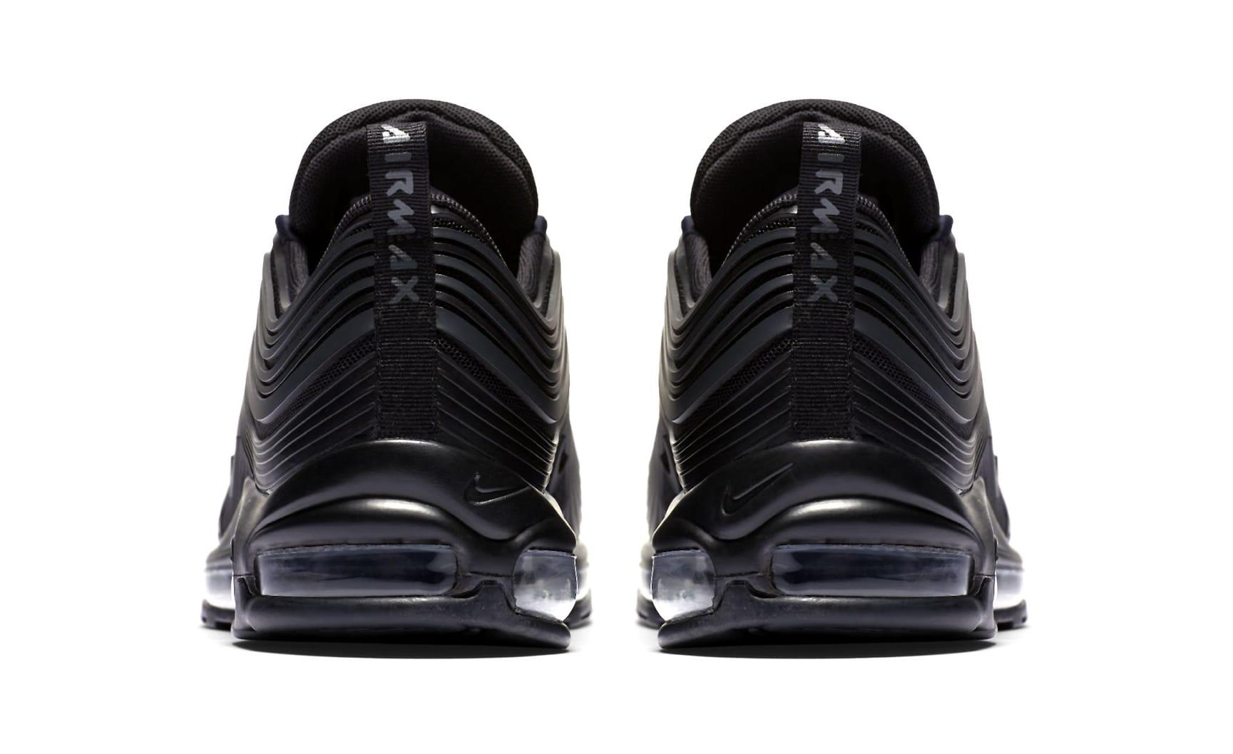 Nike Air Max 97 Ultra 'Triple Black' New Pattern (Heel)