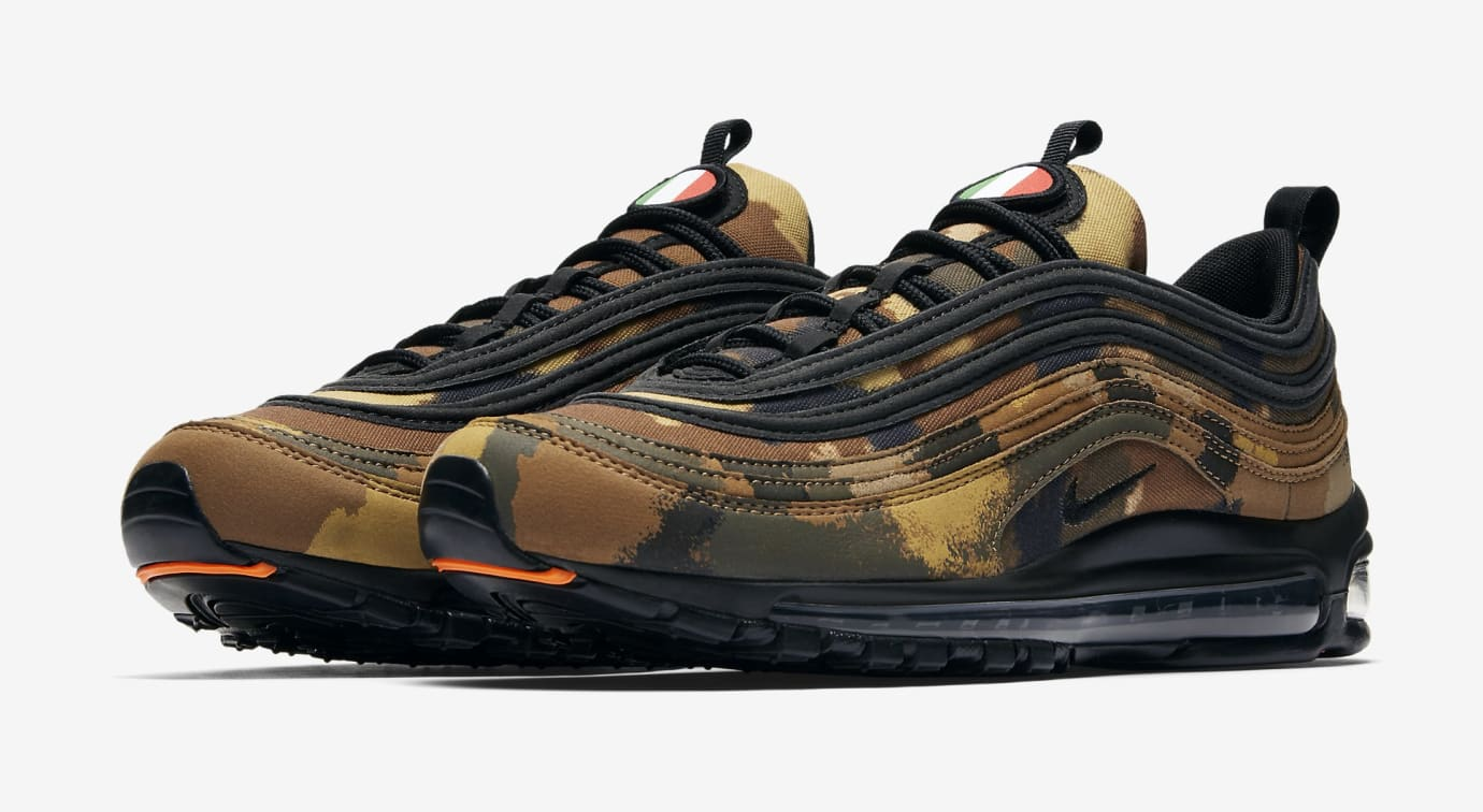 Nike Air Max 97 'Country Camo' Italy AJ2614-202 (Pair)