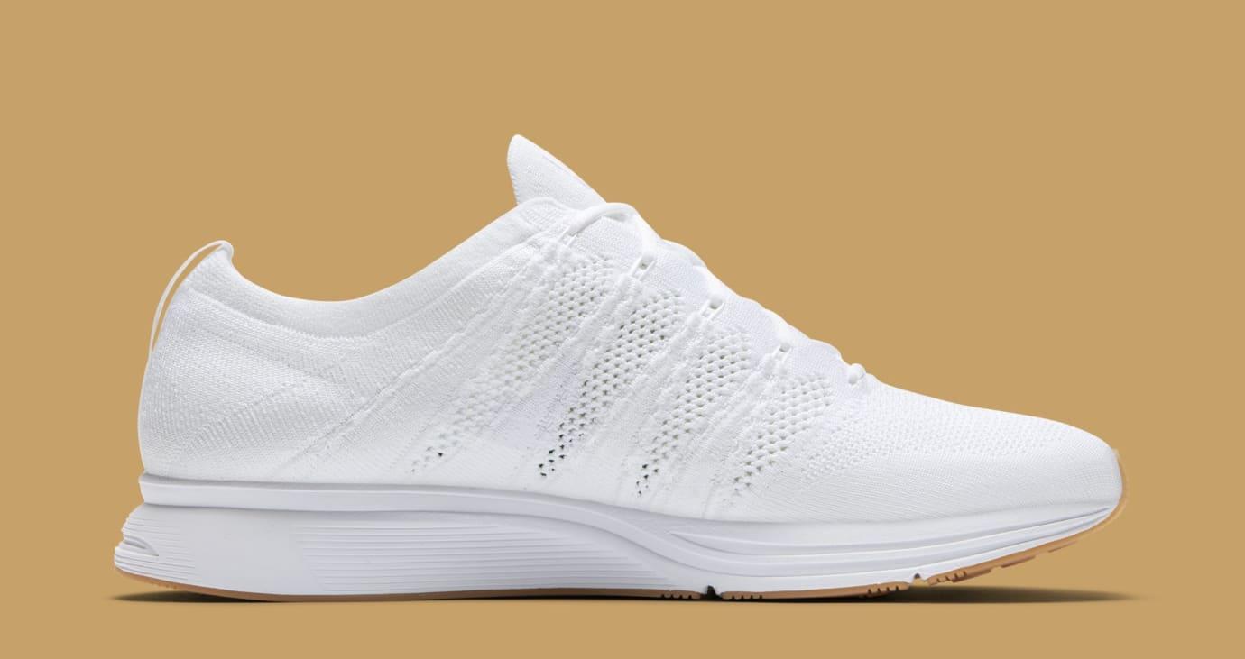 9dc129fede66b2 Image via Nike Nike Flyknit Trainer  White Gum  AH8396-102 (Medial)