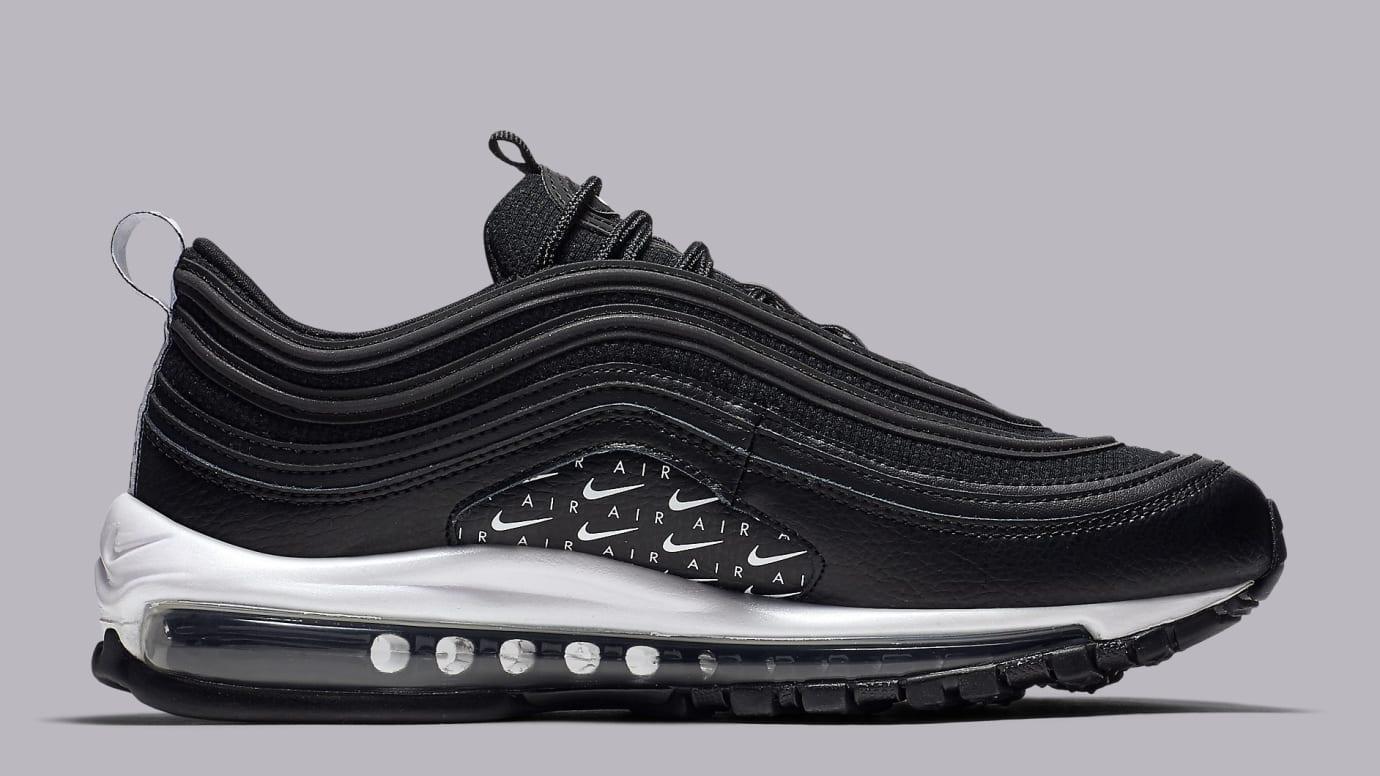 best website ea9df 22309 Image via Nike Nike Air Max 97 Black White AR7621-001 Medial