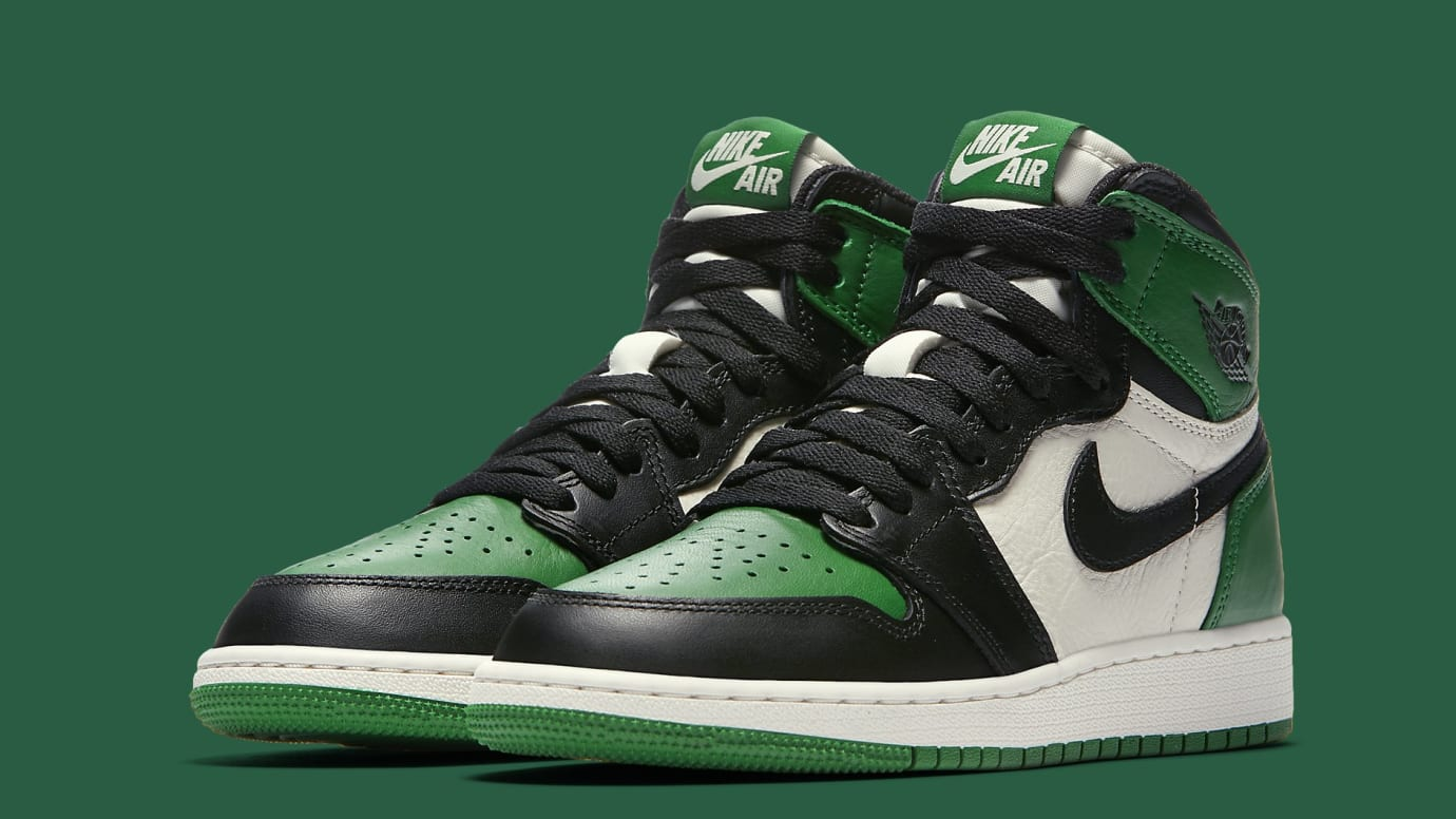 buy popular 961bc 243c8 air-jordan-1-gs-pine-green-575441-302-
