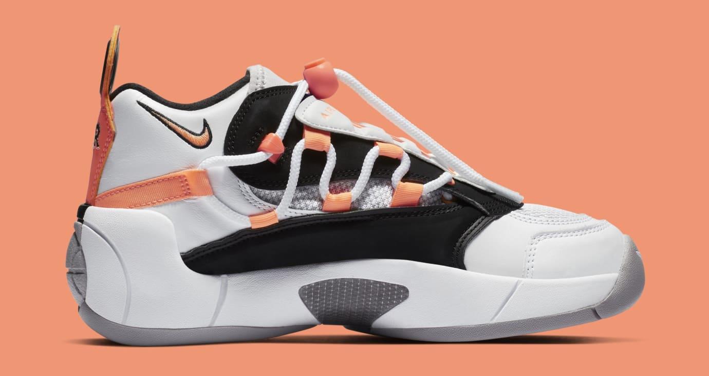 Nike Air Swoopes 2 'Orange Pulse' 917592-102 (Medial)