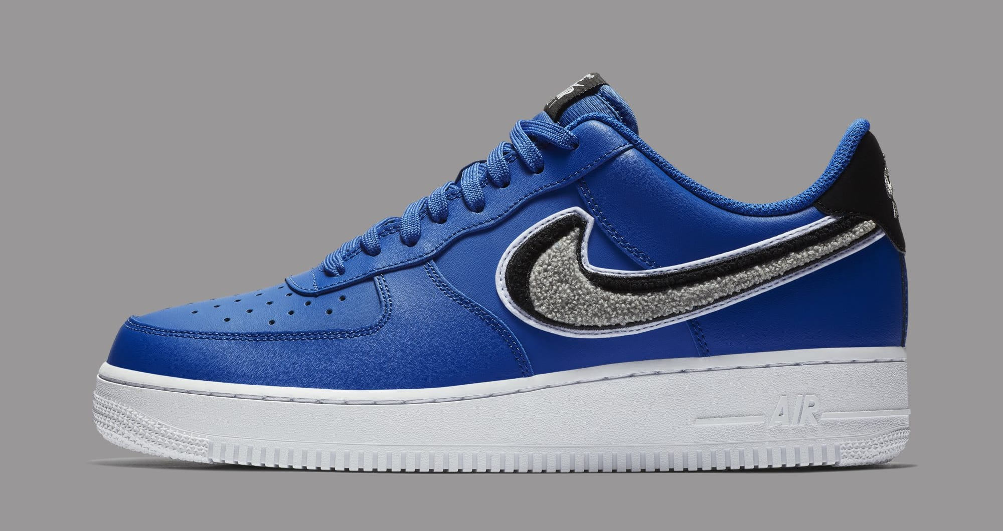 Nike Air Force 1 Low 3D Swoosh 823511-409 (Lateral)