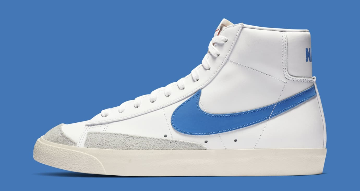 Nike Blazer Mid '77 'Pacific Blue' BQ6806-400 (Lateral)