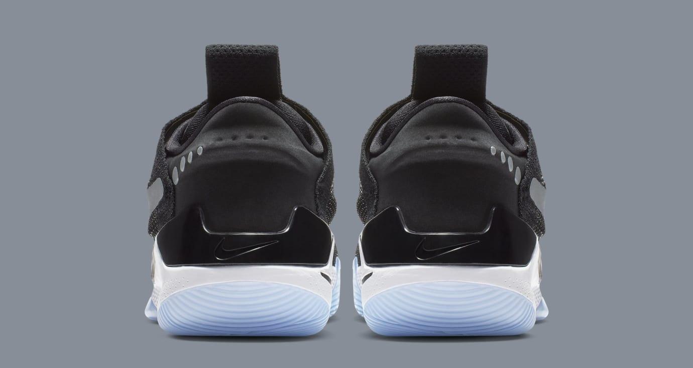 Nike Adapt BB 'Black/White/Pure Platinum' AO2582-001 (Heel)