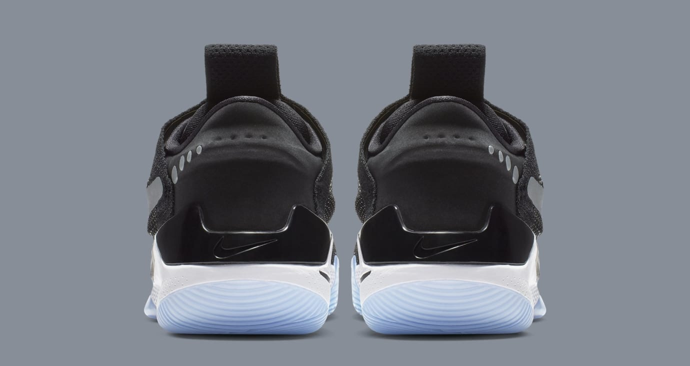 87bef02d12 Nike Adapt BB 'Black/White/Pure Platinum' AO2581-001 Release Date ...