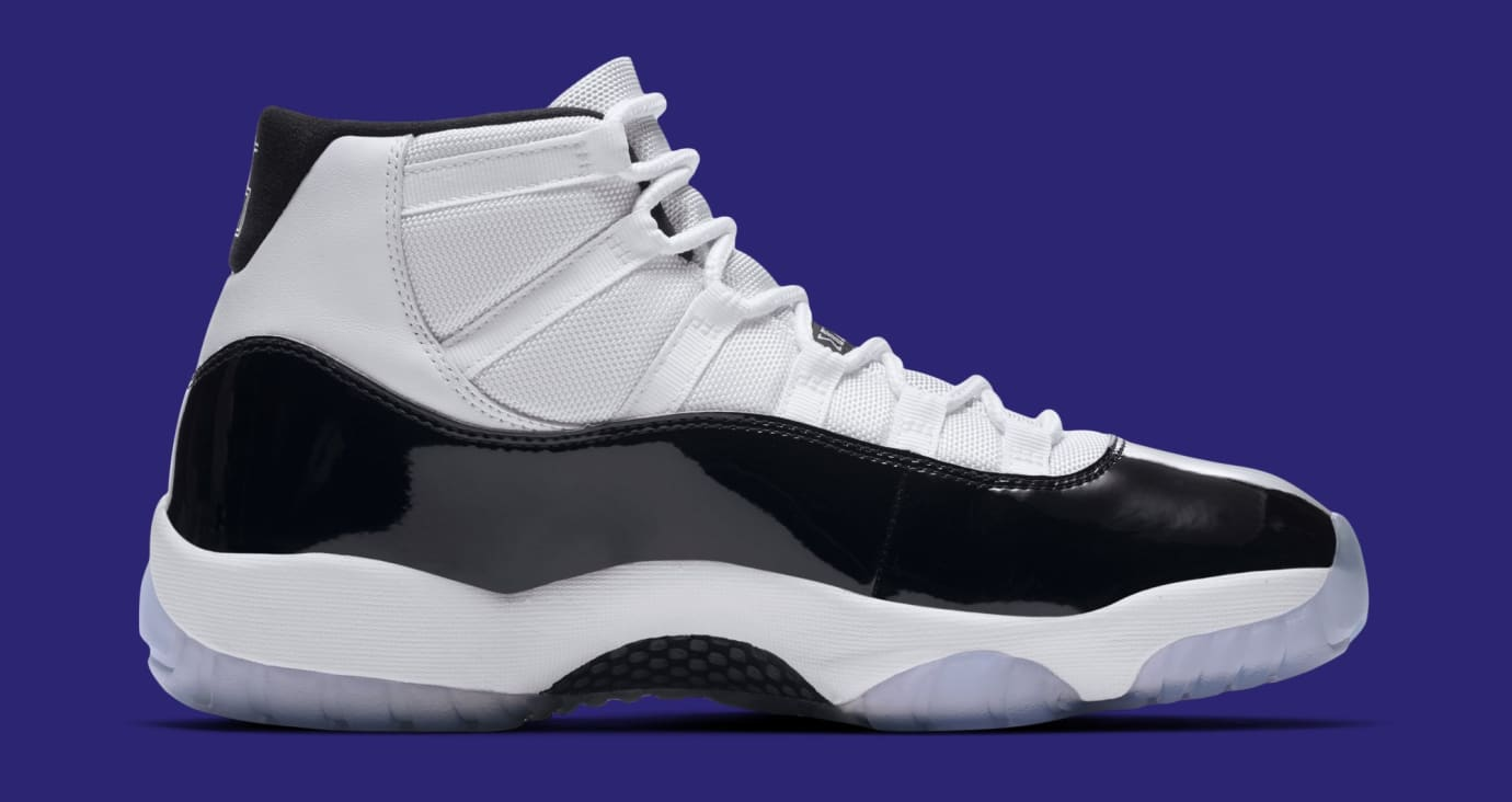 reputable site 3c020 75204 Image via Nike Air Jordan 11  Concord  378037-100 (Medial)