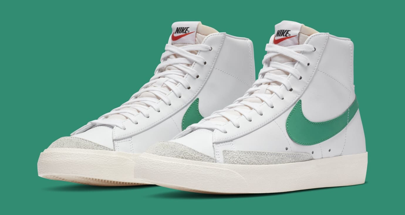 Nike Blazer Mid '77 'Lucid Green' BQ6806-300 (Pair)