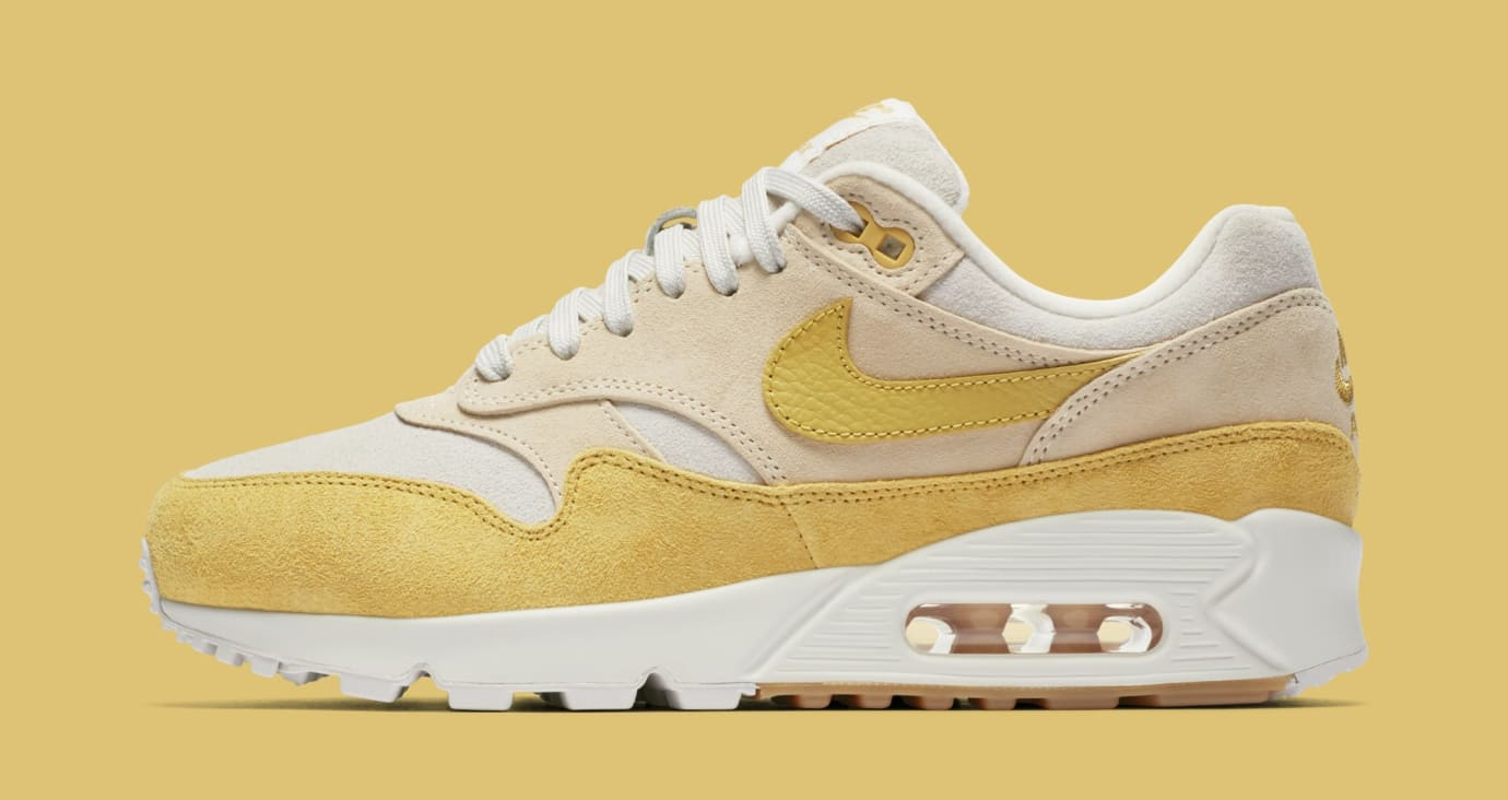 online store b78be f31d8 WMNS Nike Air Max 90 1  Guava Ice  AQ1273-800 (Lateral