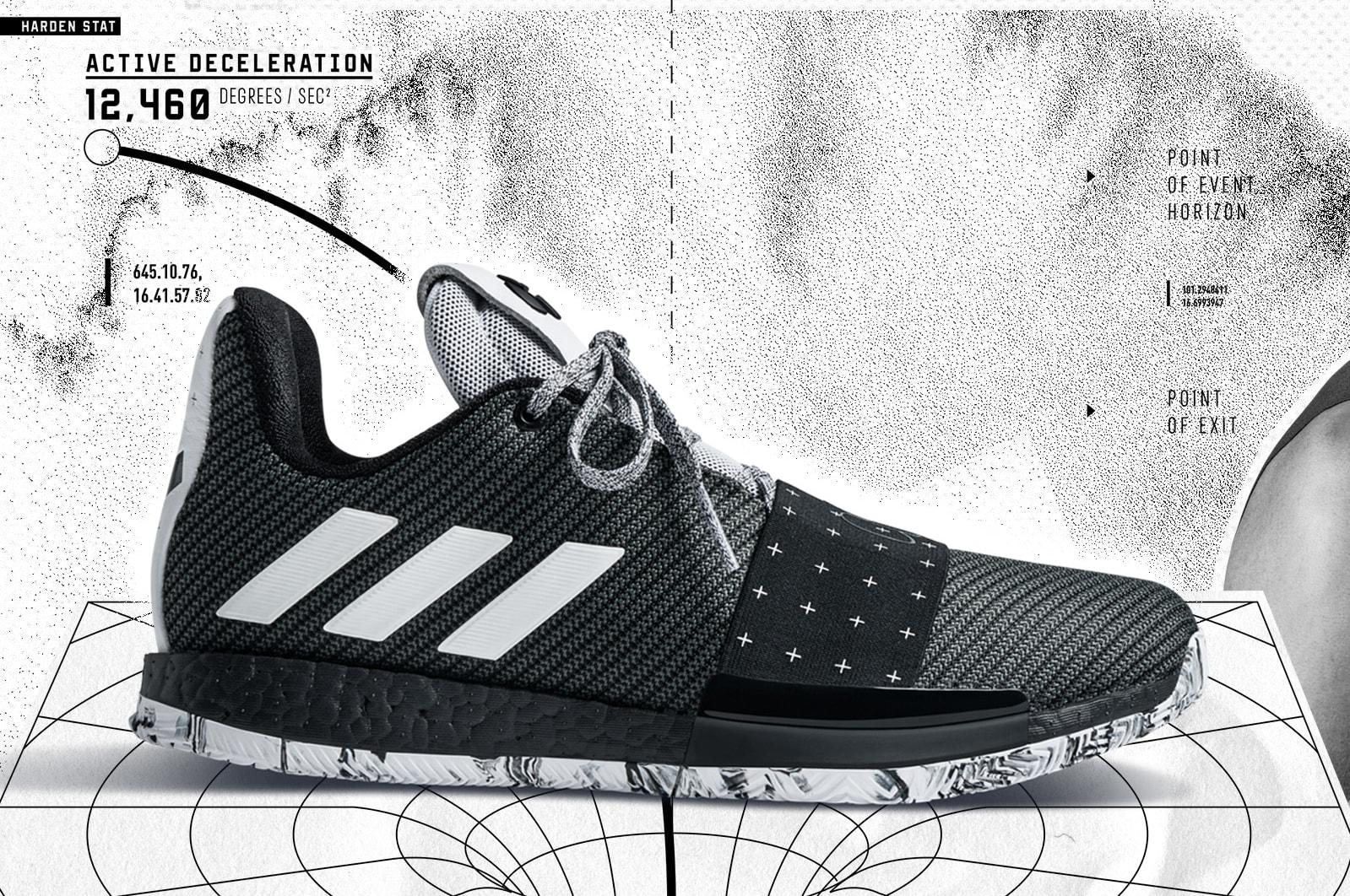 Adidas Harden Vol. 3 'Cosmos' (Lateral)
