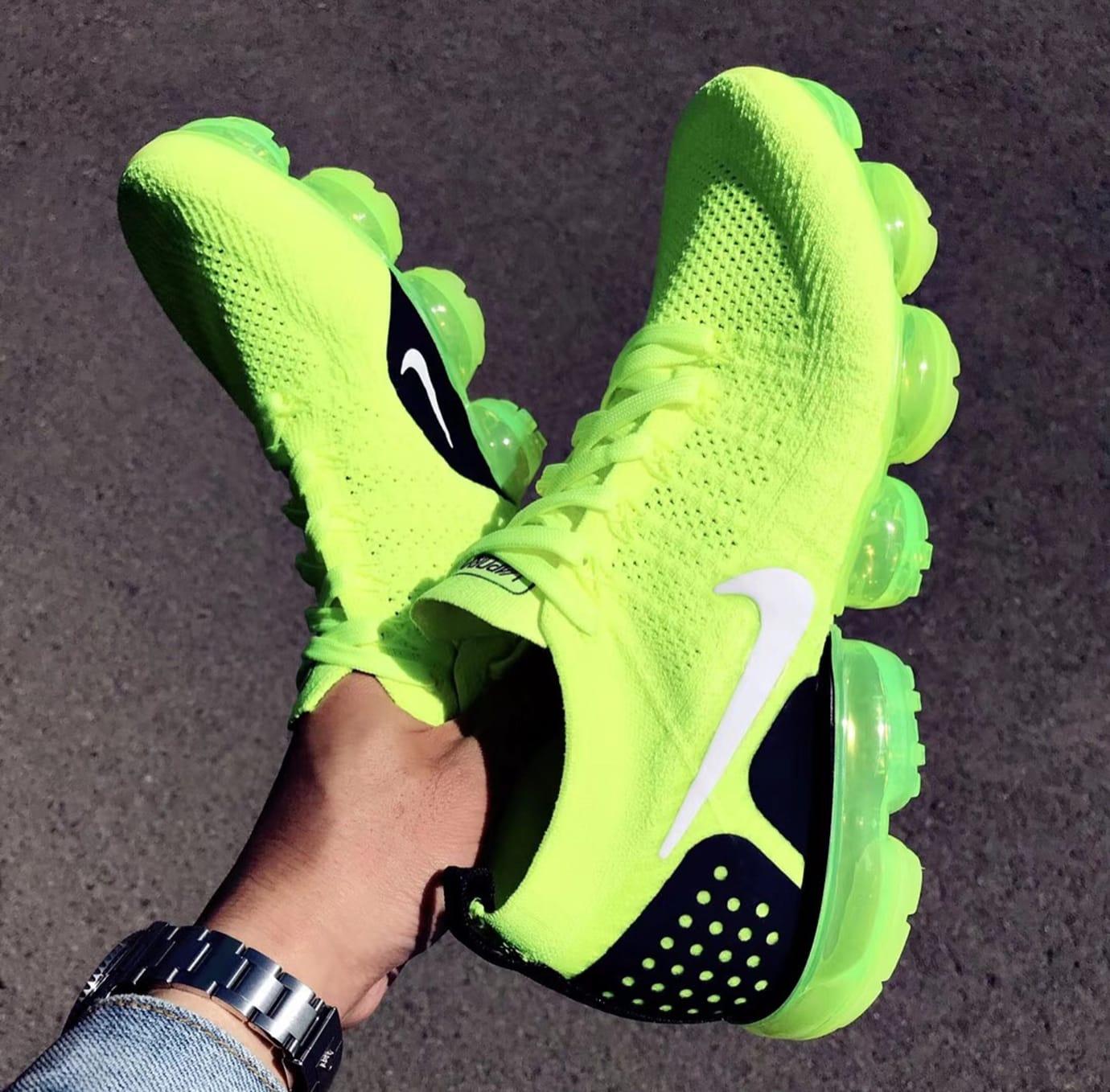 watch 4dee3 a1c6c Nike Air VaporMax 2 Flyknit Volt Release Date 942842-700 (1 ...