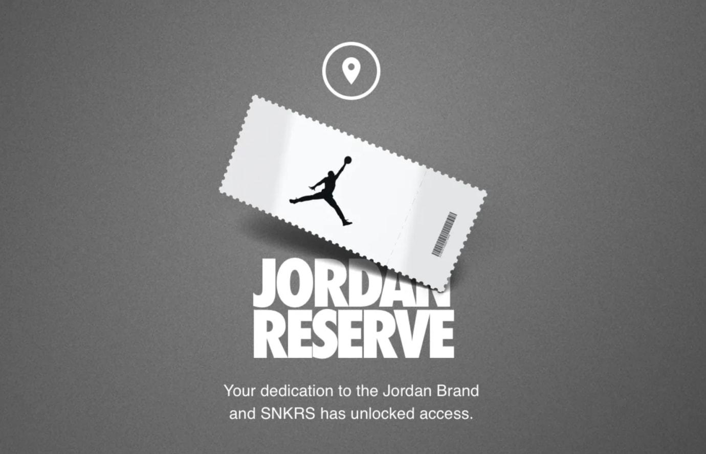 Jordan Reserve Air Accesss
