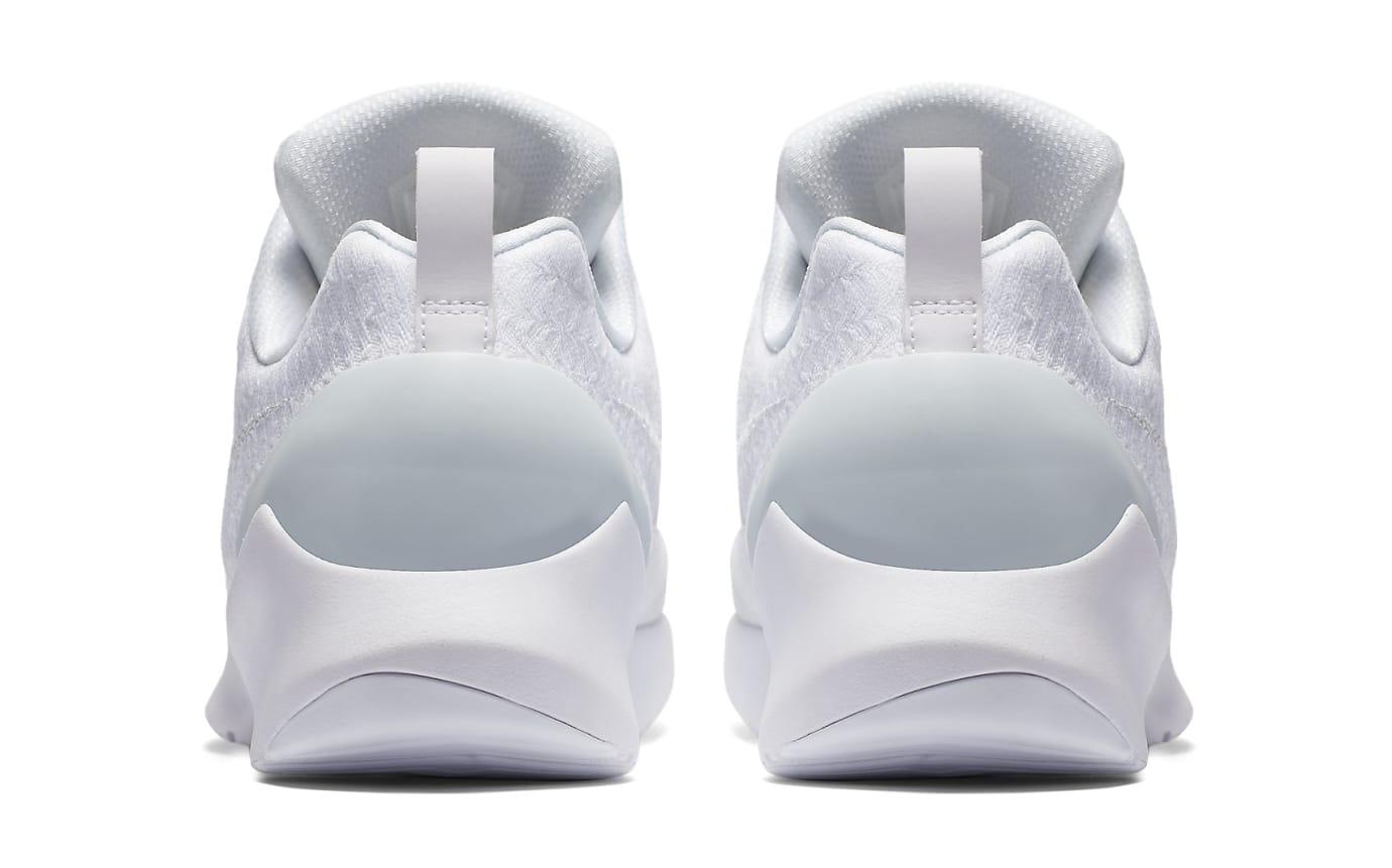 Nike HyperAdapt 1.0 Triple White Release Date AH9389-102 Heel