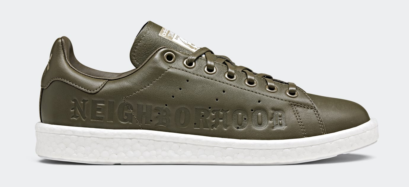 Neighborhood x Adidas Stan Smith Boost B37342 (Lateral)