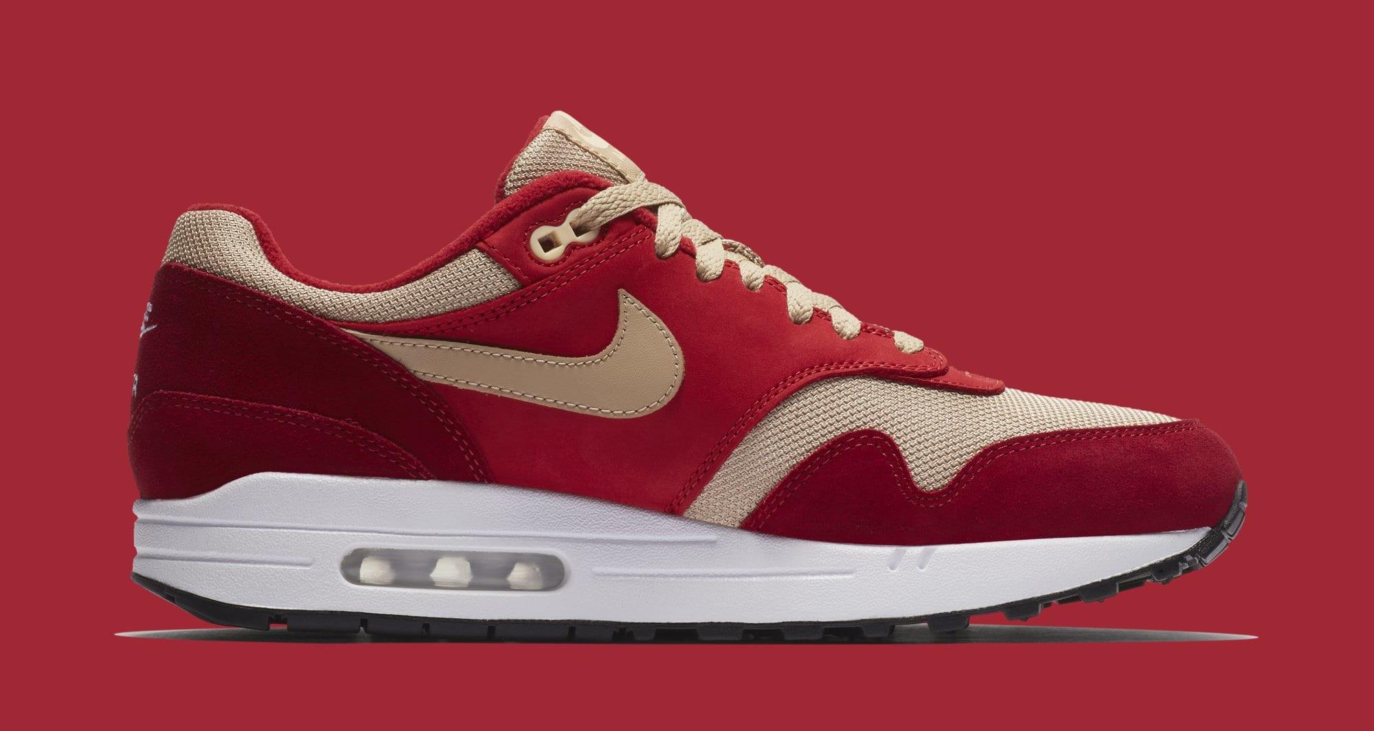 Atmos x Nike Air Max 1 'Red Curry' 908366-600 (Medial)
