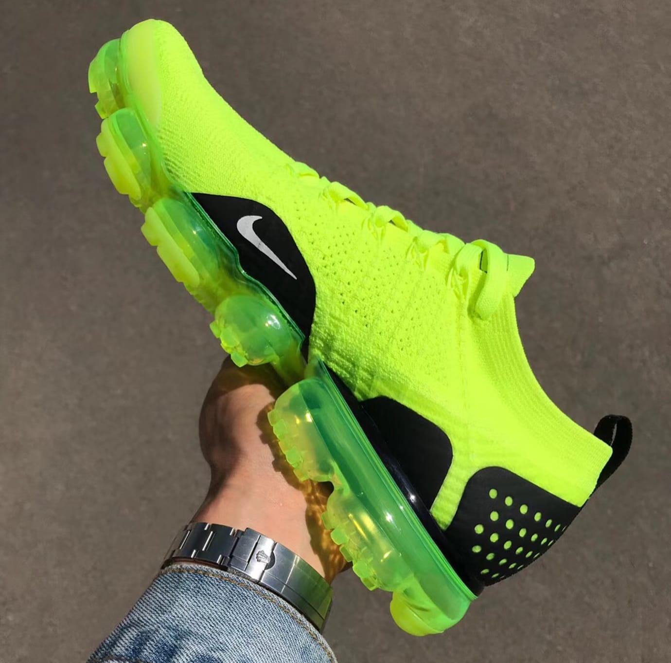 Nike Air VaporMax 2 Flyknit Volt Release Date 942842-700 (4)