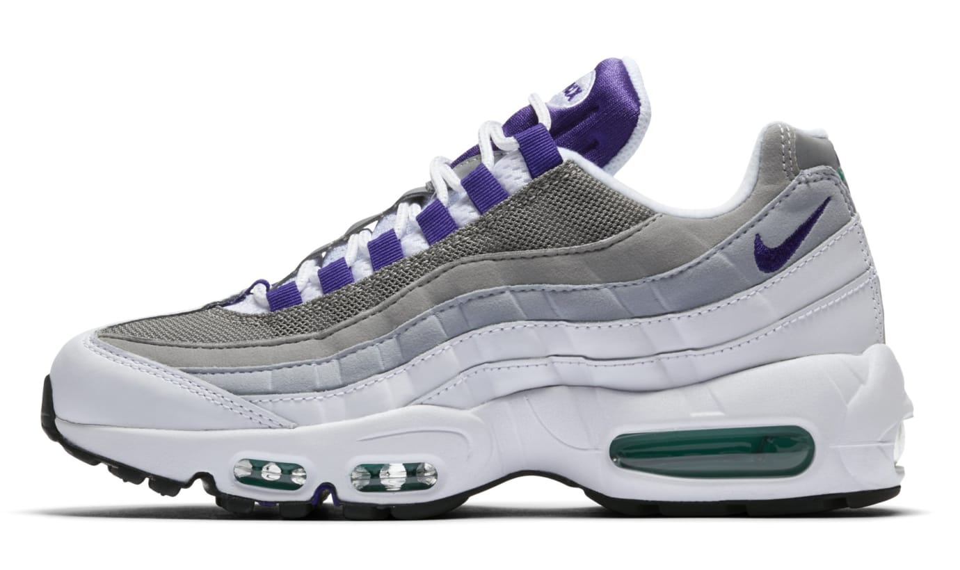WMNS Nike Air Max 95 'Grape' 307960-109 (Lateral)