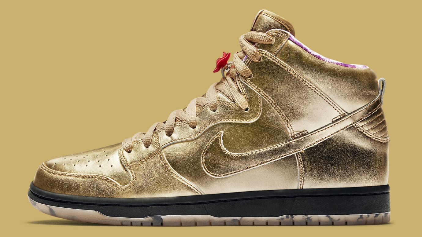 the best attitude 6f73e ddec6 Humidity x Nike SB Dunk High Trumpet Tricentennial Release ...