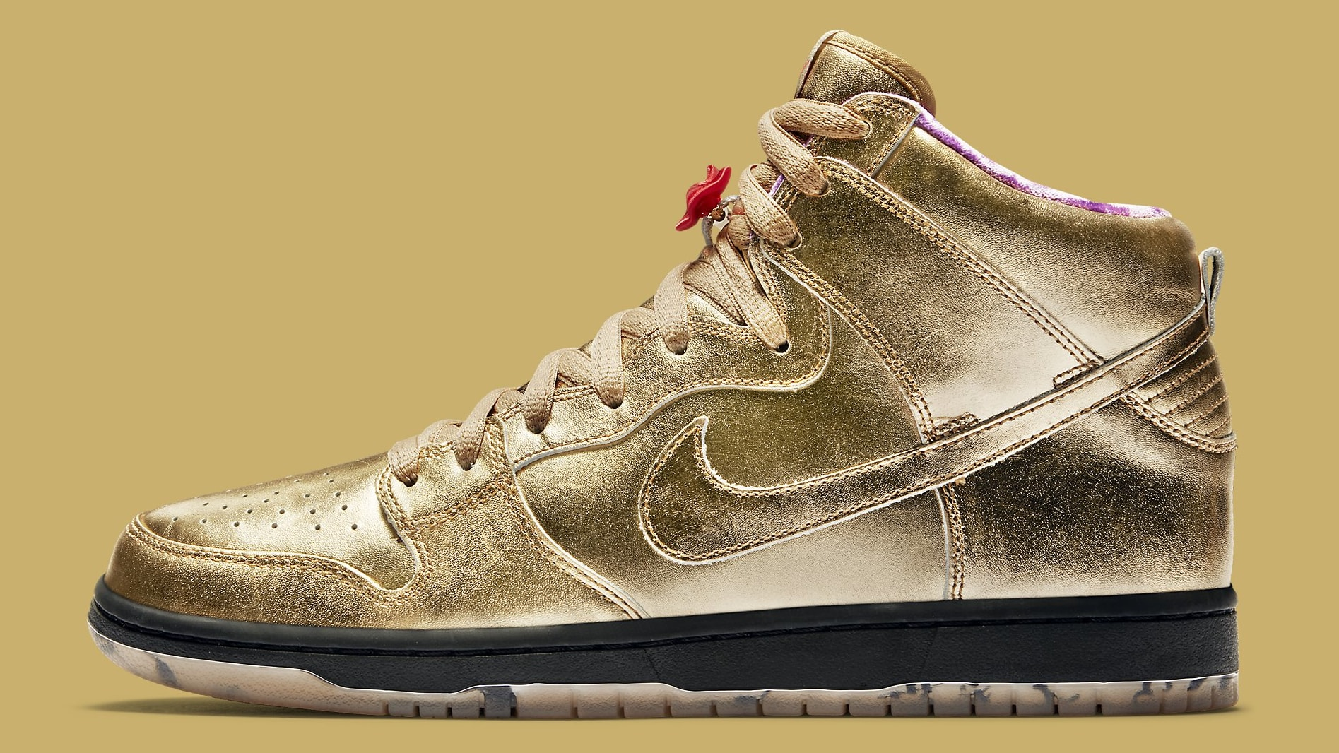 Humidity x Nike SB Dunk High Trumpet Tricentennial Release Date AV4168-776 Profile