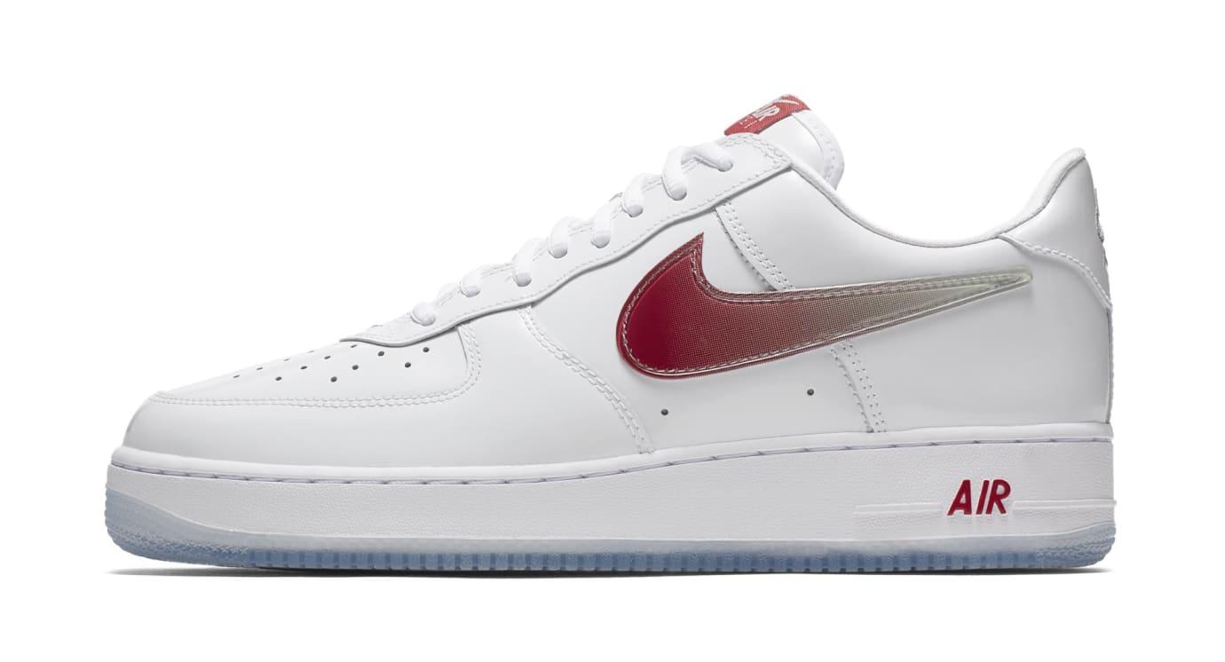 Nike Air Force 1 'Taiwan' WhiteMidnight Navy Varsity Red