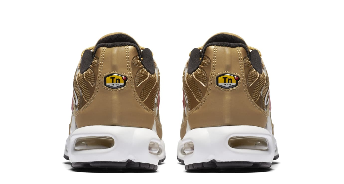 Nike Air Max Plus 'Metallic Gold' 903827-700 (Heel)
