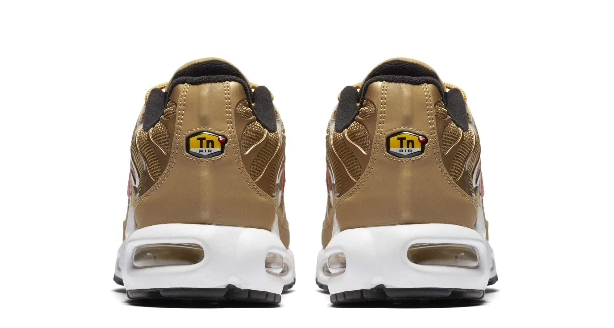 Nike Air Max Plus 'Metallic Gold' 903827-700 (Heel)