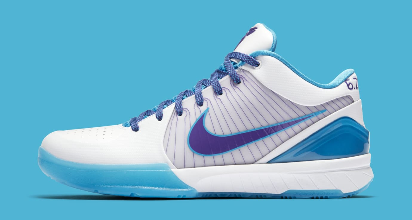 Nike Kobe 4 Protro 'White/Orion Blue-Varsity Purple' AV6339-100 (Lateral)