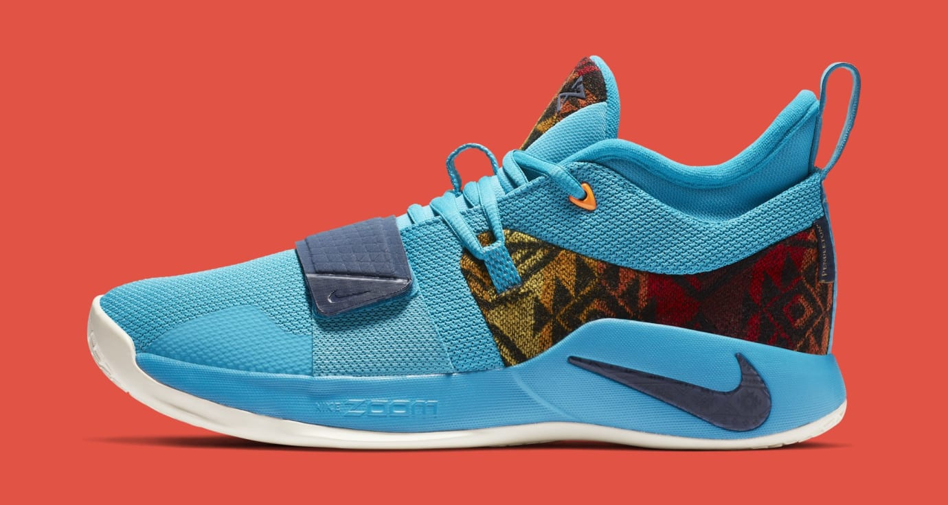 Nike PG 2.5 'Pendleton' Multi-Color/College Navy CI0294-900 (Lateral)