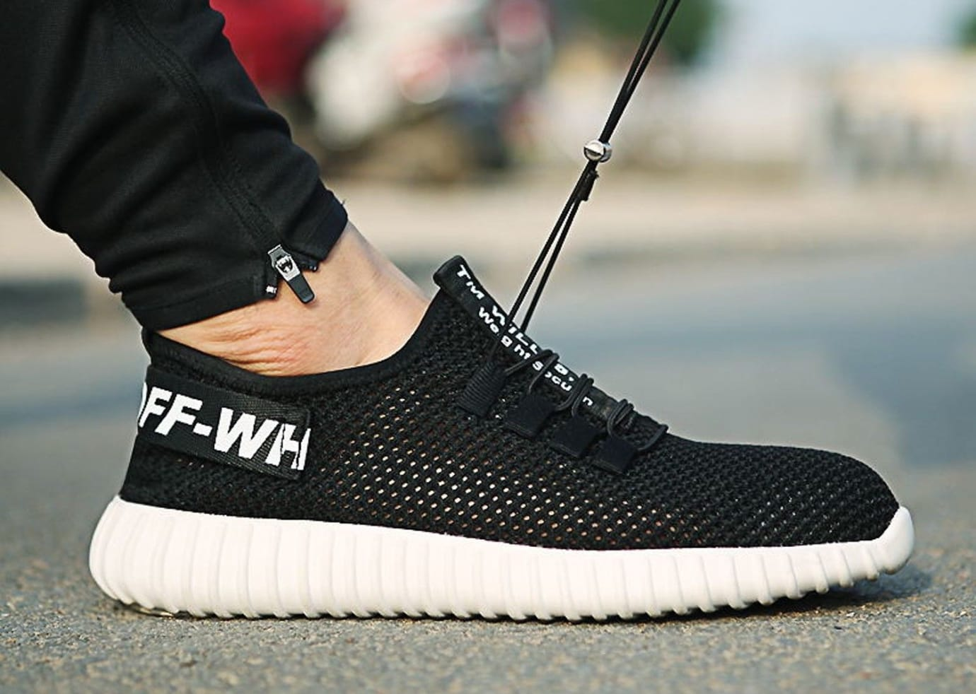 off white yeezy on feet These Fake Off-White x Yeezys Are 'Indestructible' | Sole Collector