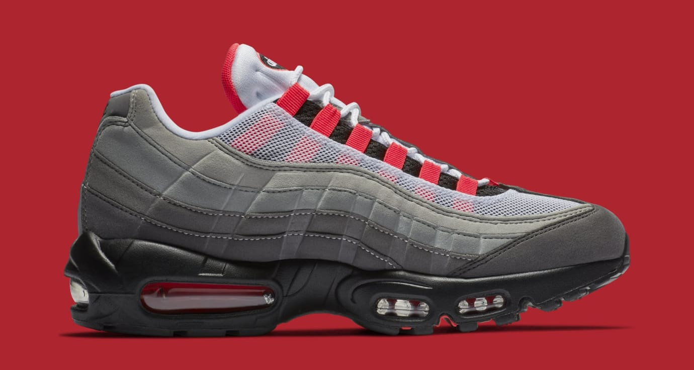 reputable site 46228 15af5 ... shopping image via nike nike air max 95 white solar red granite dust  at2865 e11bb 85c28