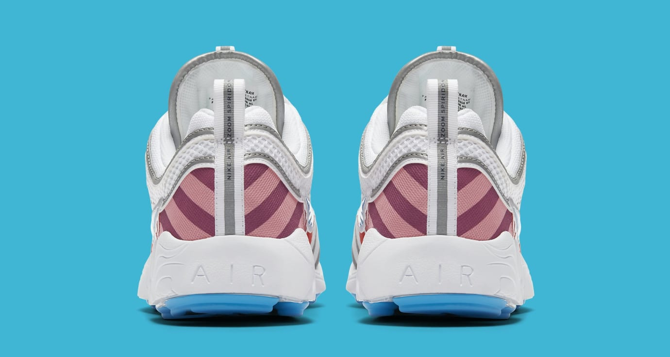 Parra x Nike Air Zoom Spiridon AV4744-100 (Heel)