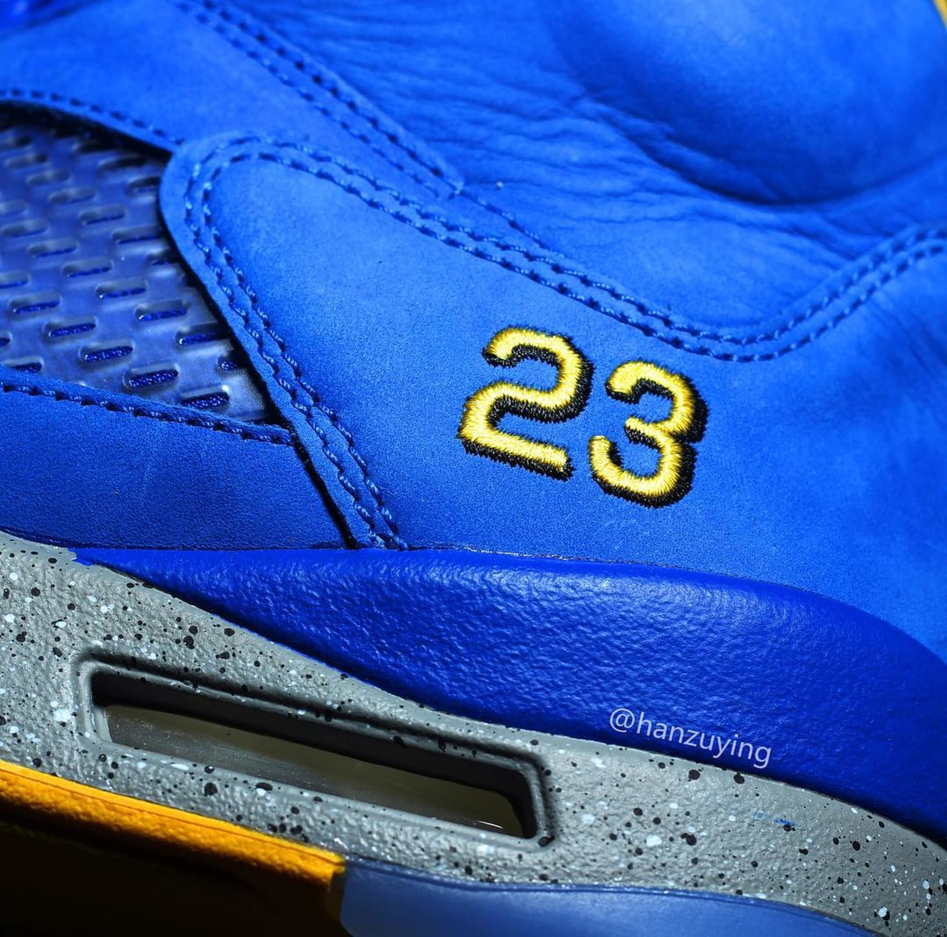 Air Jordan 5 'Laney' Varsity/Royal CS2720-400