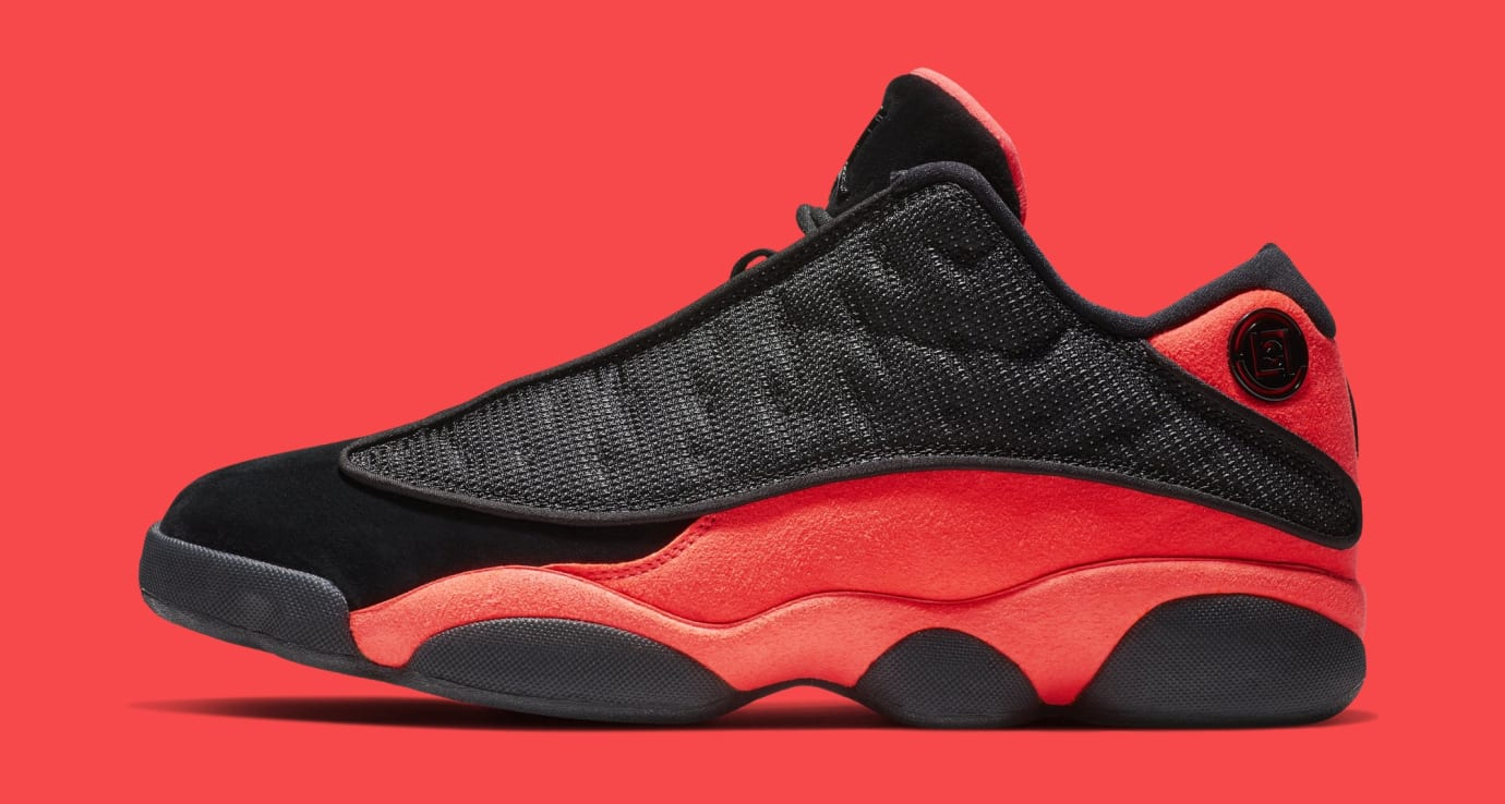 1f82209d01c Clot Air Jordan 13 Low Black Infrared Release Date AT3102-006 | Sole ...