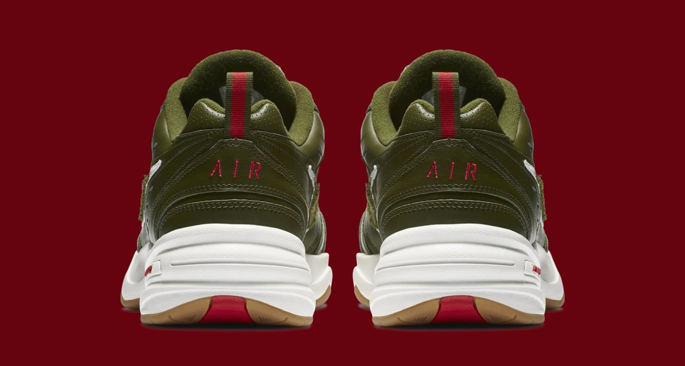 Nike Air Monarch 4 'Weekend Campout' AV6676-300 (Heel)