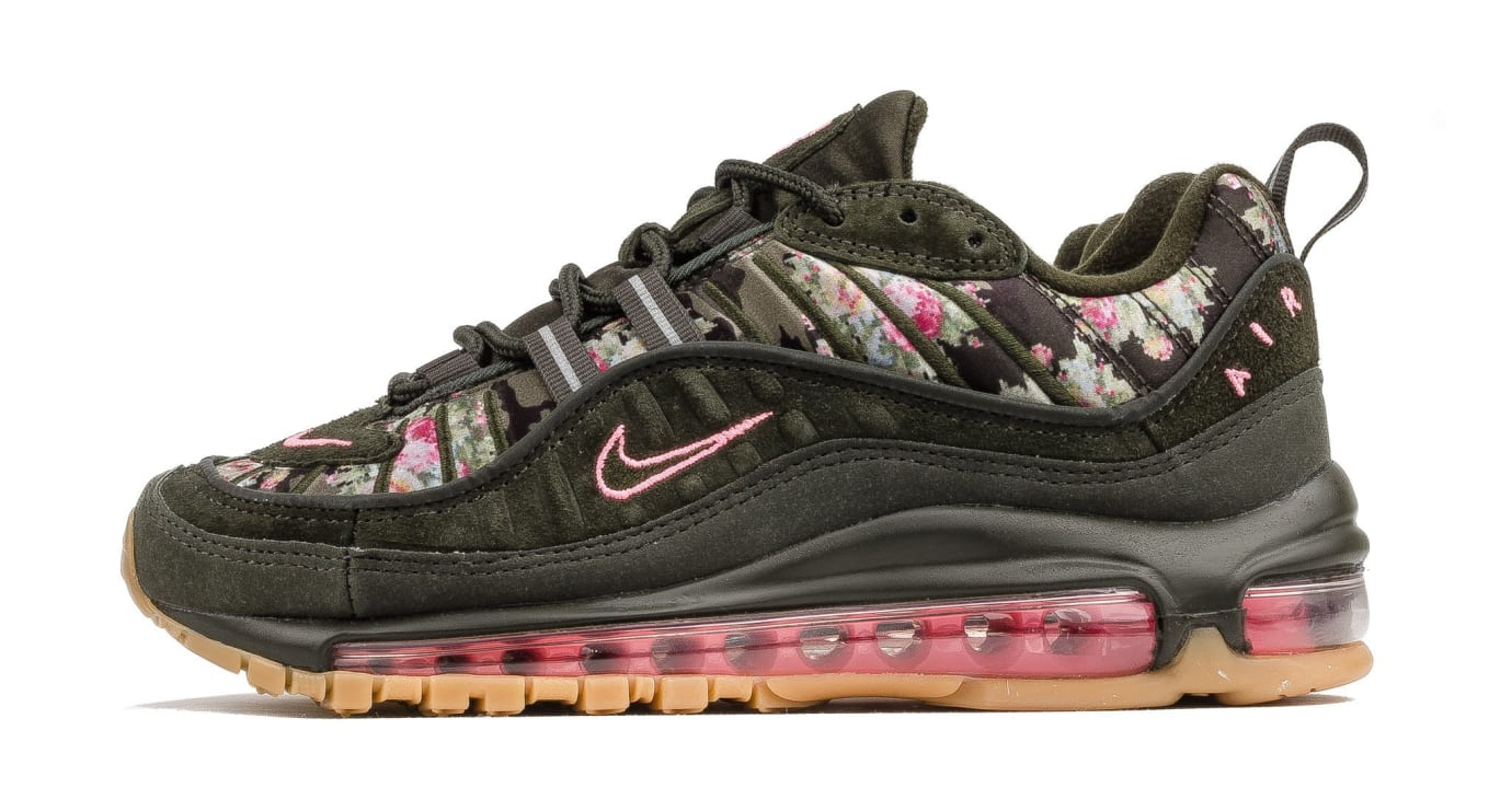 WMNS Nike Air Max 98 'Sequoia' AQ6488-300 (Lateral)