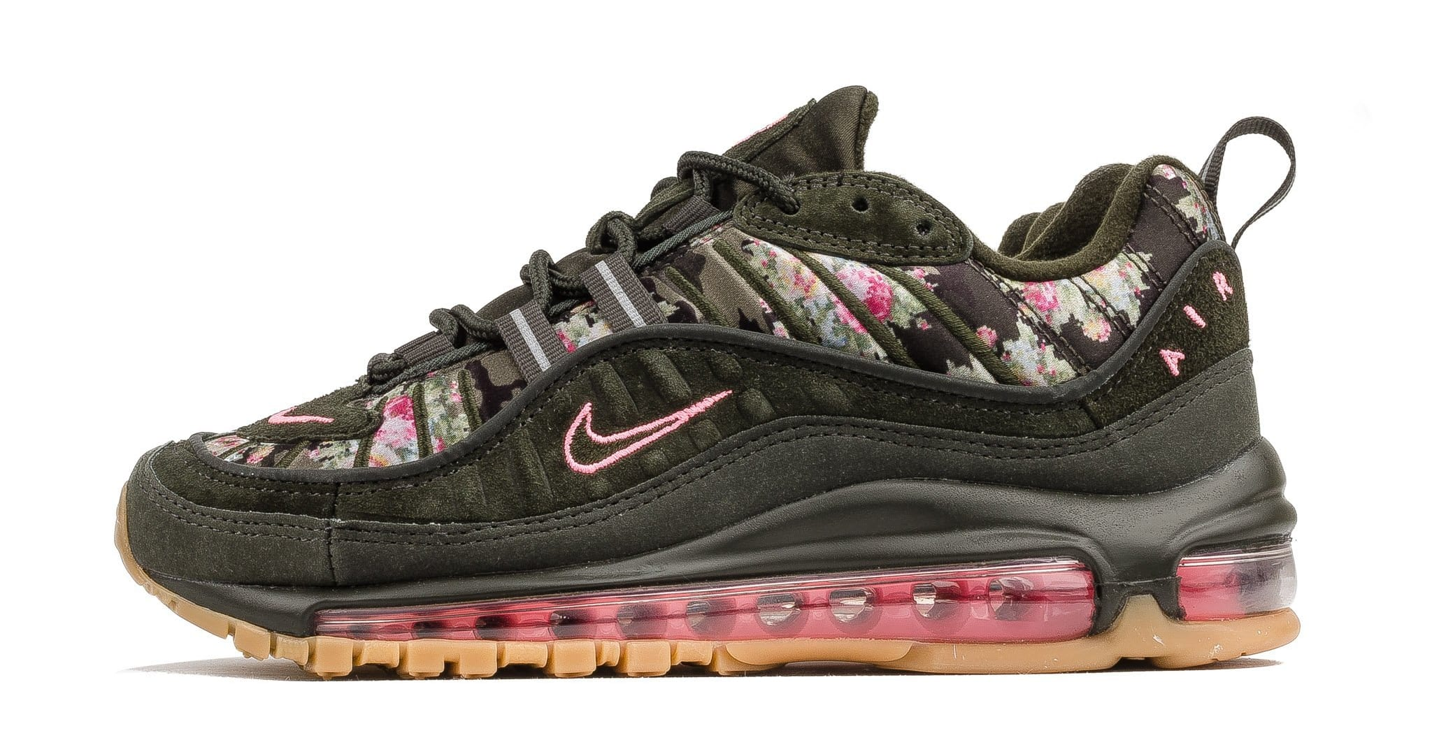 WMNS Nike Air Max 98 'Sequoia' AQ6488-300 (Lateral)