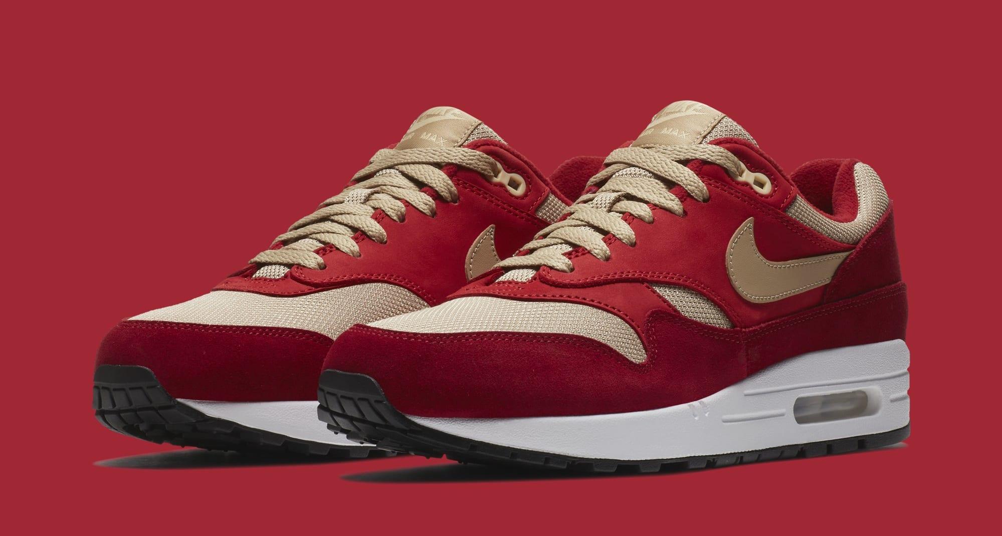 Atmos x Nike Air Max 1 'Red Curry' 908366-600 (Pair)