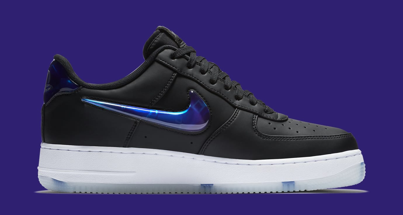 Playstation x Nike Air Force 1 Low BQ3634-001 (Medial)