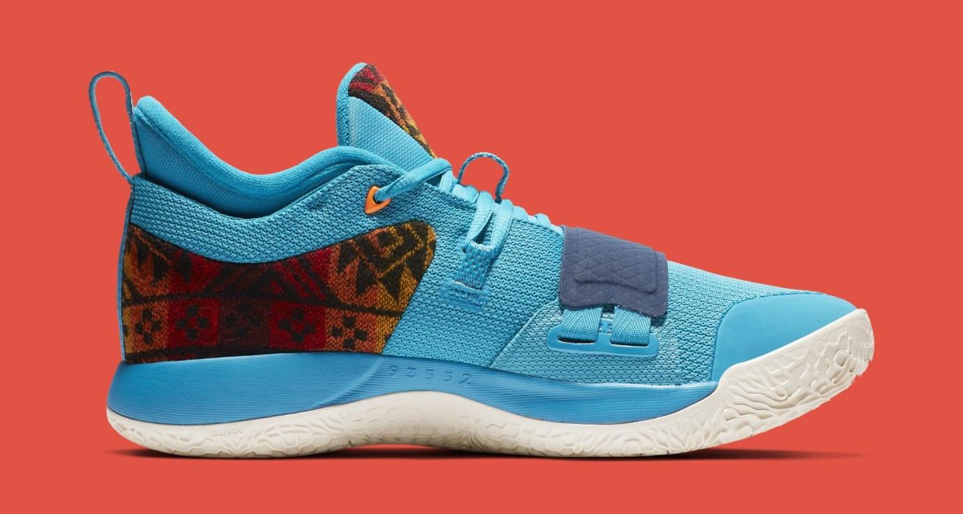 Nike PG 2.5 'Pendleton' Multi-Color/College Navy CI0294-900 (Medial)