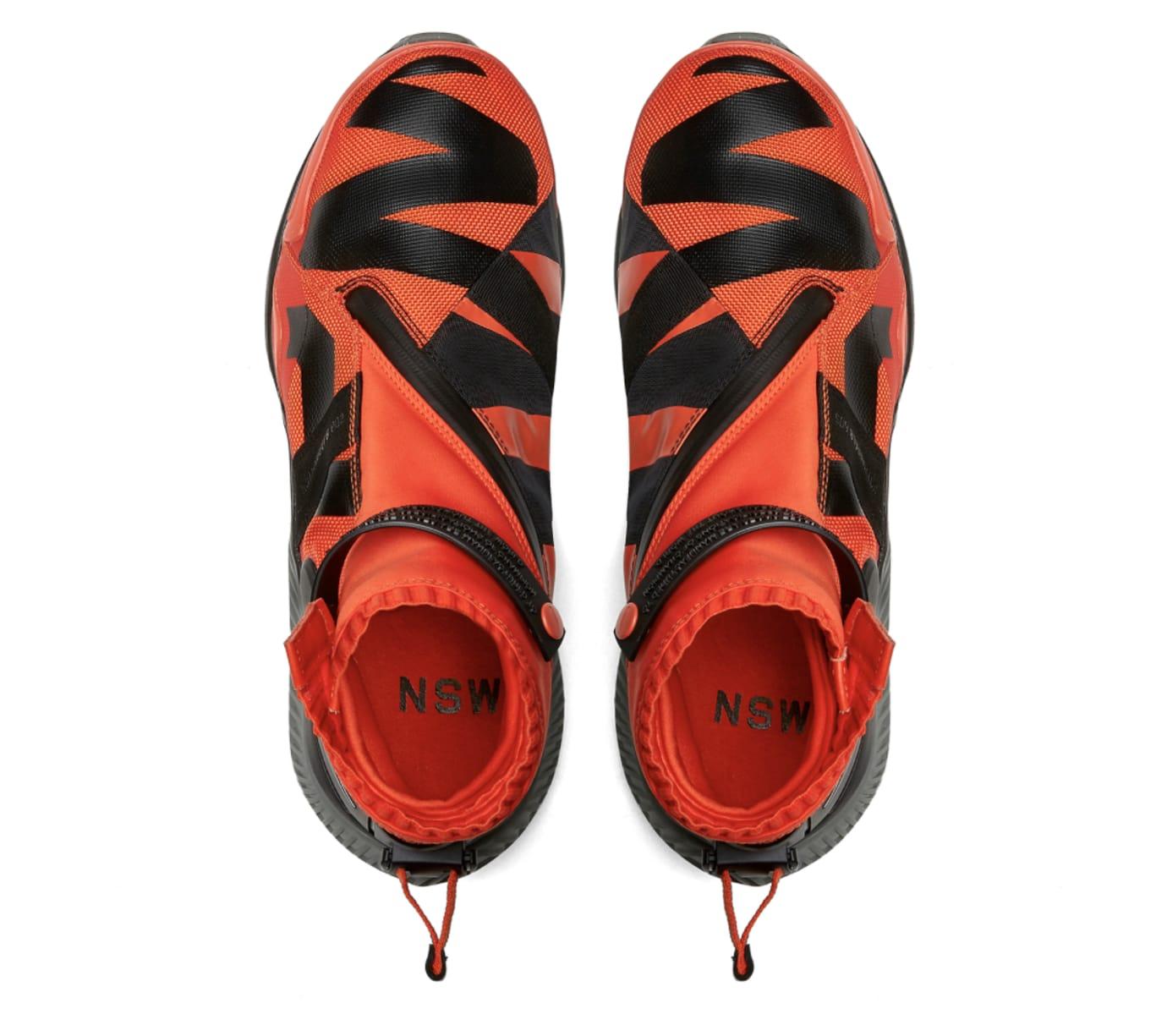 NikeLab Gyakusou Gaiter Boot 'Vivid Orange' (Top)