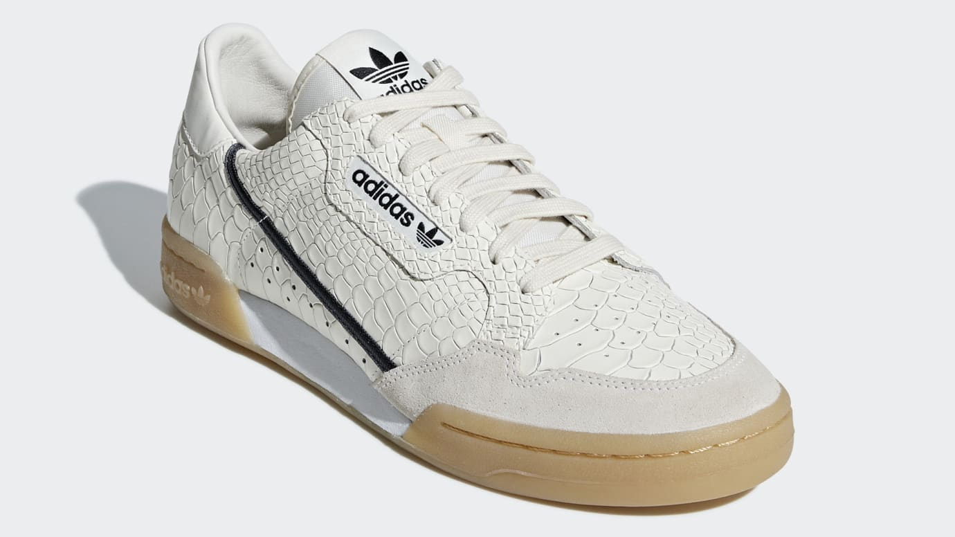 new concept 4b87b bf4a7 Image via Adidas adidas-continental-80-snakeskin-d96659-toe