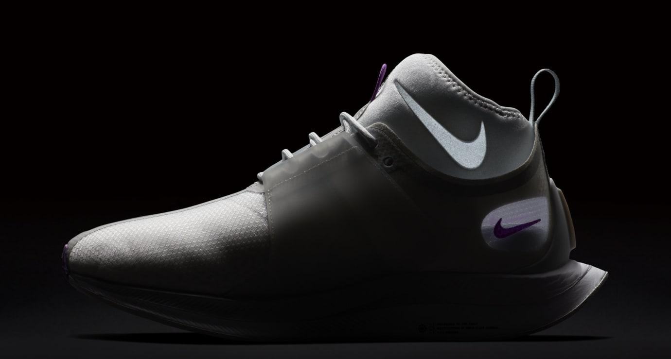 Nike Zoom Pegasus Turbo XX 'Pure Platinum/Bright Violet' WMNS AR4347-002 (Reflective)