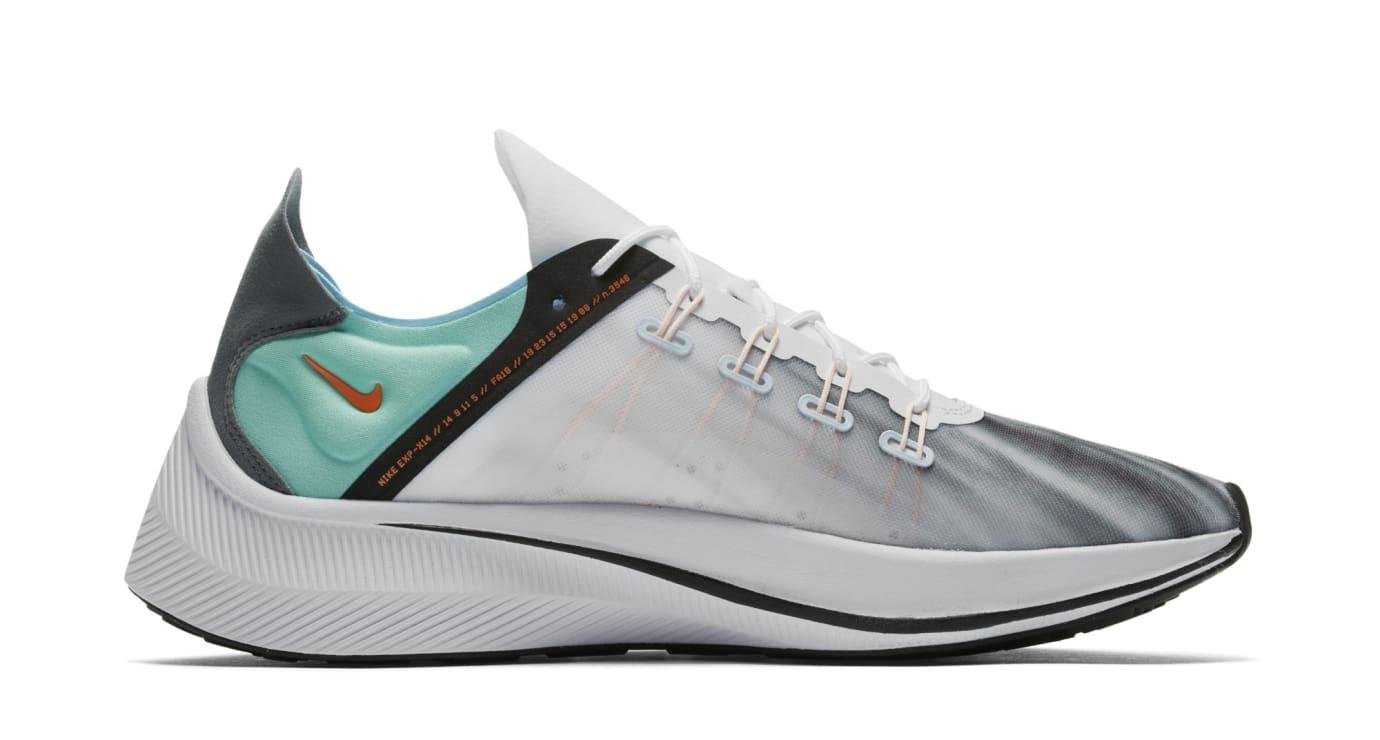 Nike EXP-X14 QS 'White/Emerald Rise/Cone/Blue Chill' BQ6972-100 (Medial)
