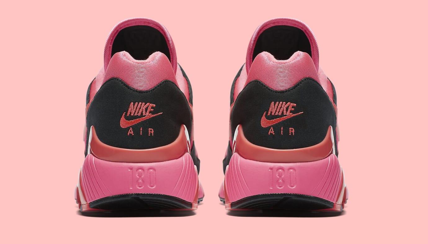 Comme des Garçons x Nike Air Max 180 'Black' AO4641-601 (Heel)
