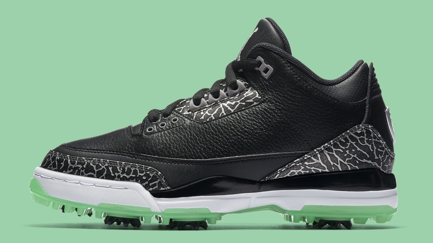 3492d587160c41 Air Jordan 3 Golf Shoes Release Date Summer 2018 AJ3783-001