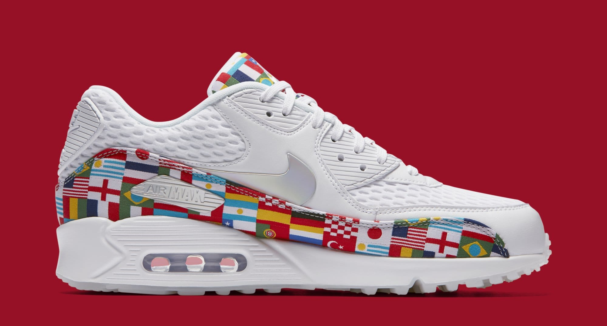 Nike Air Max 90 'One World' AO5119-100 (Medial)