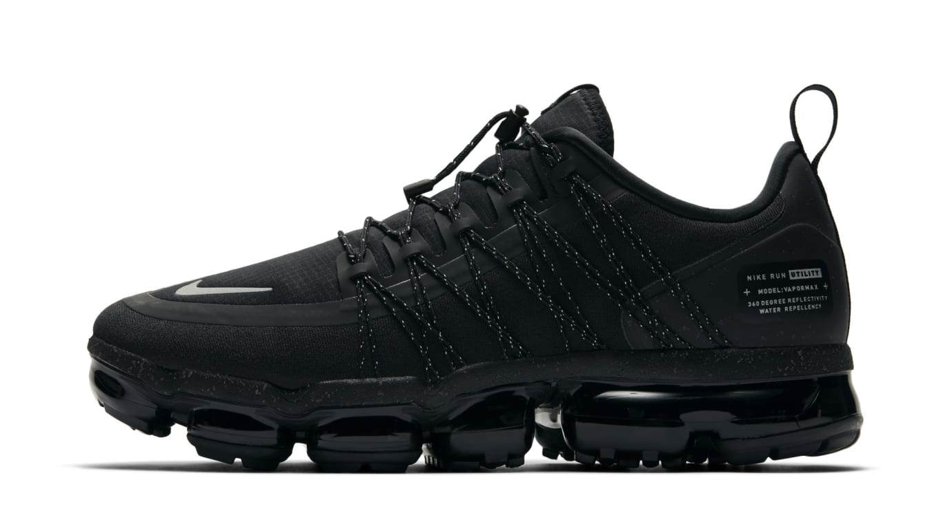 wholesale dealer 053dc 2ee8c Nike Air VaporMax Run Utility Black (Lateral)