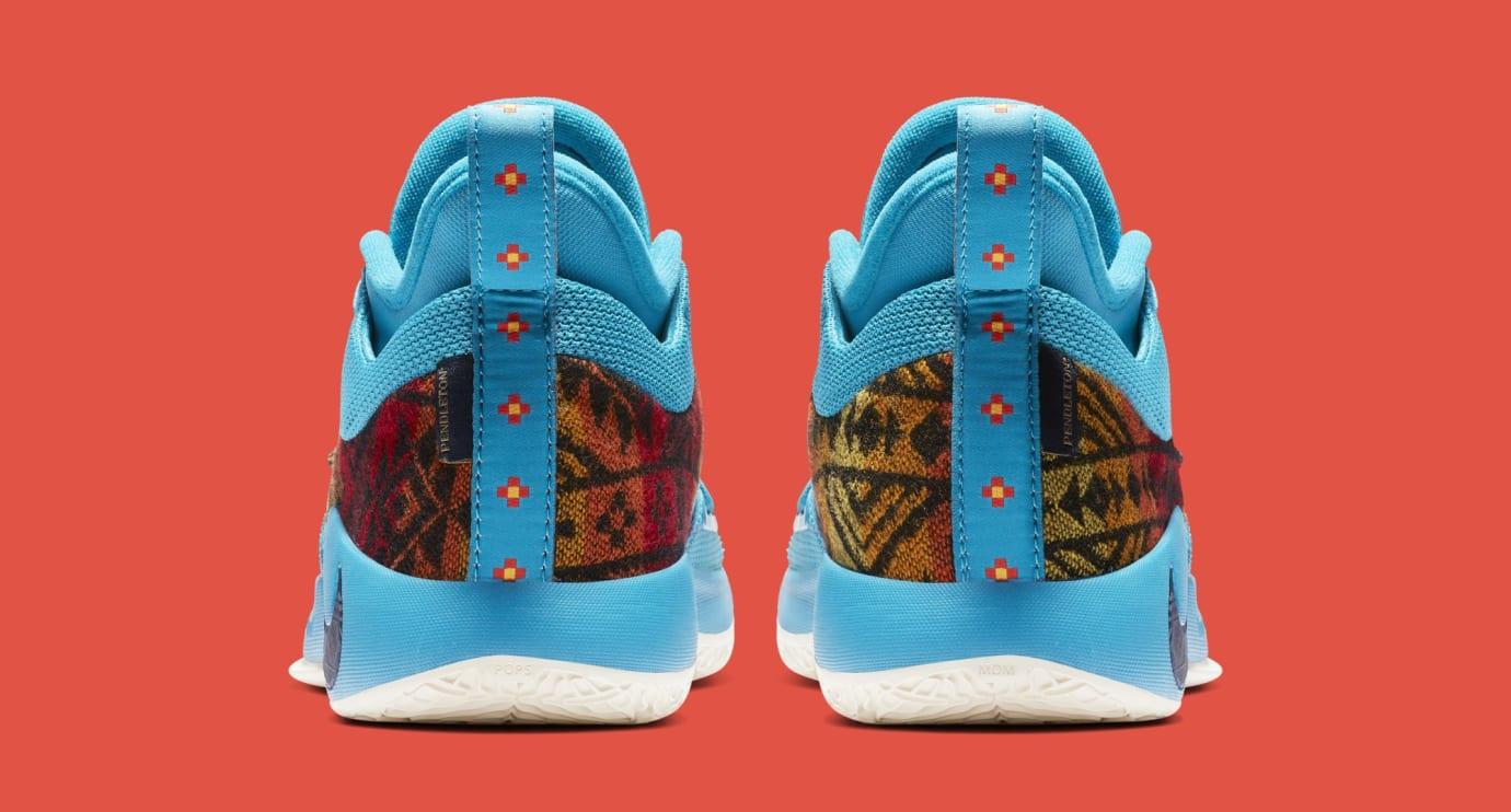 Nike PG 2.5 'Pendleton' Multi-Color/College Navy CI0294-900 (Heel)