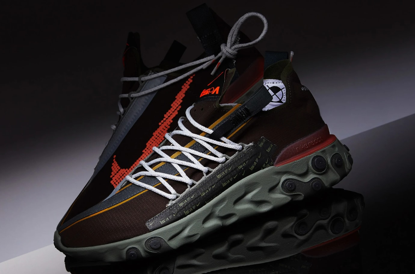 Nike React WR ISPA 'Velvet Brown/Terra Orange' AR8555-200 (Pair)