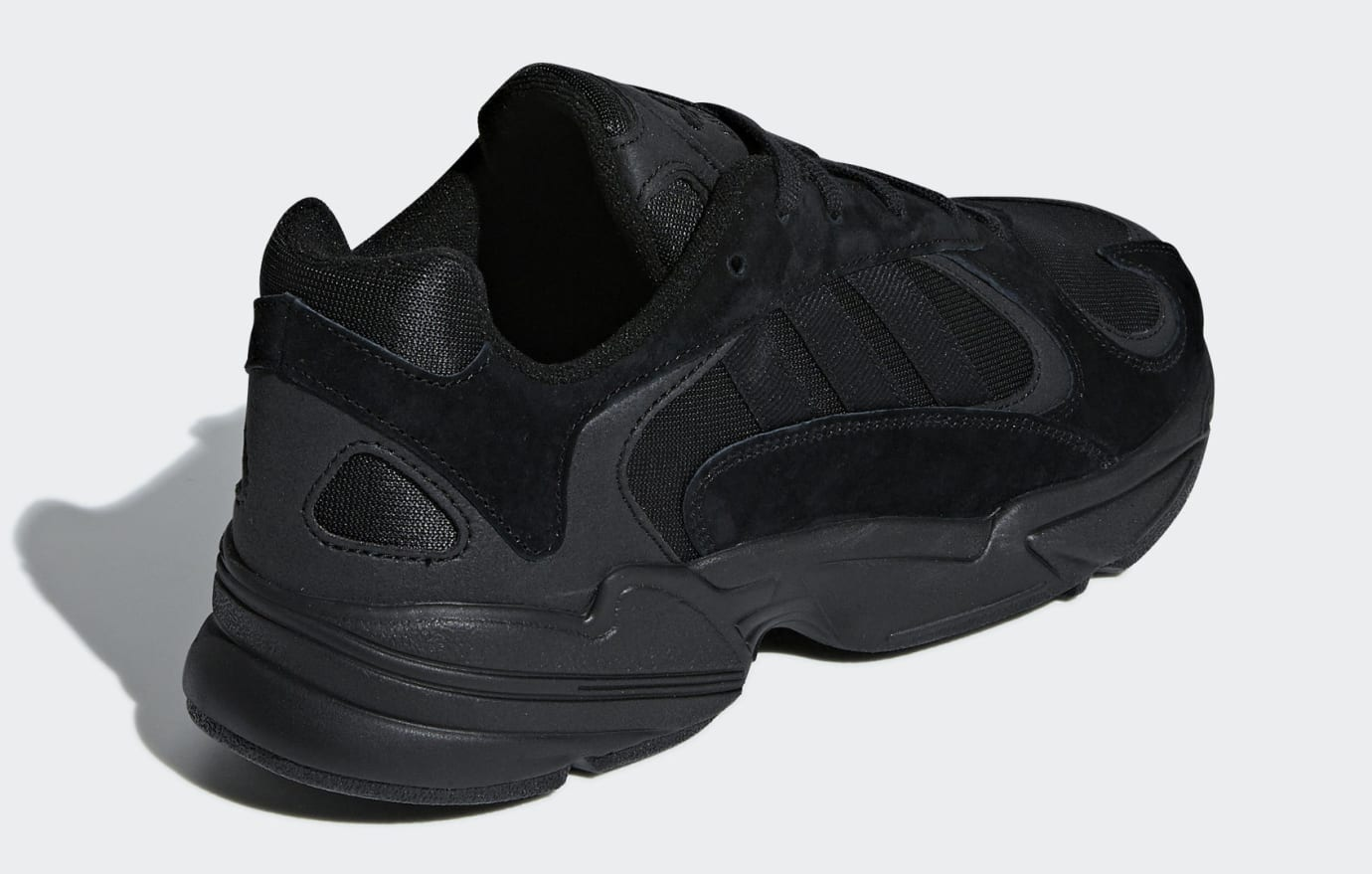 Adidas Yung-1 Triple Black Release Date G27026 Back